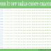 Free printable daily chore calendar, green