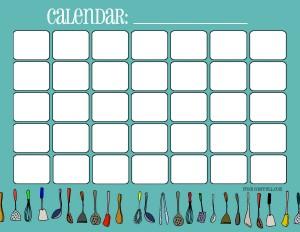 calendar-cooking