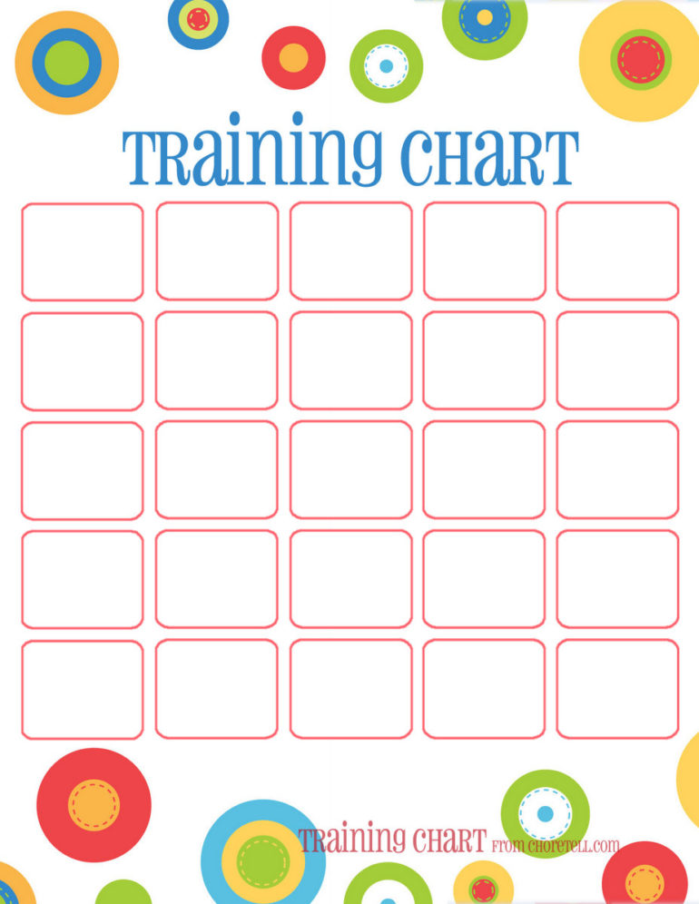 picture relating to Free Printable Potty Training Chart identified as Dots benefit charts: Potty doing exercises added - Totally free printable