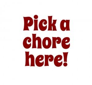 pick-a-chore