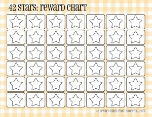 image regarding Star Reward Chart Printable called Plaid benefit charts (42 superstars) - No cost printable downloads